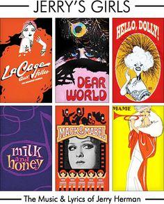 "Jerry Herman's ""Jerry's Girls""  The Music & Lyrics of Jerry Herman 1985"
