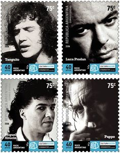 luca prodan y pappo - Buscar con Google Rock Argentino, Going Postal, Ray Charles, Stamp Collecting, Postage Stamps, Graphic Design, Country, Fictional Characters, Google
