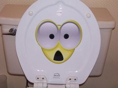 Hey, I found this really awesome Etsy listing at https://www.etsy.com/listing/270640241/toilet-shocked-potty-smiley-face-sticker