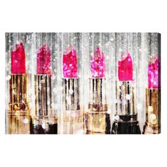 Oliver Gal Lipstick Collection Canvas Art | from hayneedle.com