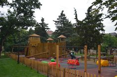Coralya ~ Playground Playground, Parks, Deck, Cabin, House Styles, Outdoor Decor, Home Decor, Children Playground, Decoration Home