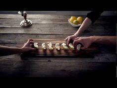 Pear & Gorgonzola Crostini #Recipe