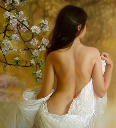 belle de printemps, Andrey Belichenko on ArtStation at https://www.artstation.com/artwork/168WZ