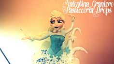 Elsa !!! Made with foundant! !