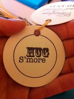 Wedding, Reception, Favors, Rustic, Country, Smores