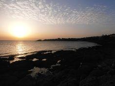 tiepido tramonto a Portopaglietto