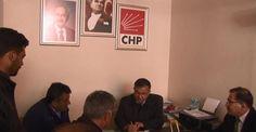 Bakan Yılmaz CHP İlçe Başkanlığını ziyaret ederek 'Evet'i anlattı