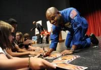 Former astronaut inspires Denver-area students in math, technology #STEM