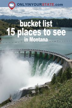 Travel | Montana | Attractions | Activities | Things To Do | Explore | Bucket List | Interesting Places | Beautiful