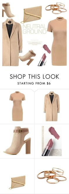 """""""Neutral night out"""" by nora-jakucs on Polyvore featuring mel, Bamboo, NYX and Kendra Scott"""