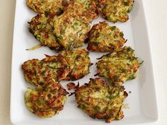 Get Zucchini Fritters Recipe from Food Network