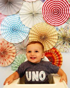 Crafty after all: Fun fans tutorial and my little Mr. Ds. photoshoot for his b-day invitations!