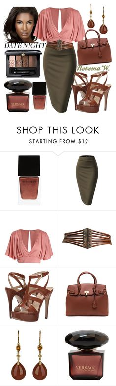 """""""Date Night!🍷🍝👫"""" by sexyshonda ❤ liked on Polyvore featuring Witchery, Alaïa, GUESS and Guerlain"""