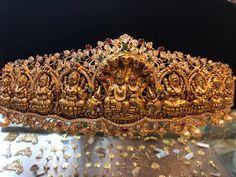 Lakshmi Vaddanam Collection from Premraj Shantilal Jain Jewellers. Few are Ashta Lakshmi Vaddanams. For Orders and Price Enquiries please call Premraj Shantilal Jain Jewellers Jewelry Design Earrings, Gold Earrings Designs, Gold Jewellery Design, Gold Jewelry, Vanki Designs Jewellery, Bridal Jewelry, Antique Jewellery, Necklace Designs, Gold Necklace