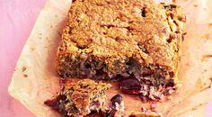 Рецепт овсяного пирога со сливами