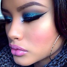 If u are going to do pink and blue, this is how u do it...........