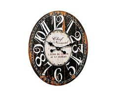 VINTAGE LOFT: Reloj de pared Chef Normand
