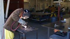 Commercial Welding: Teaches the full spectrum of various types of commercial welding. New Career, Welding, Spectrum, Engineering, Commercial, Teaching, Education, Soldering, Smaw Welding