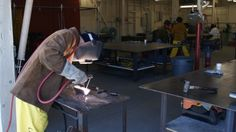 Commercial Welding: Teaches the full spectrum of various types of commercial welding.