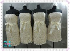 Champagne Lace Bridesmaid Dress Lace Dress Sexy by 214EVER on Etsy, $129.99