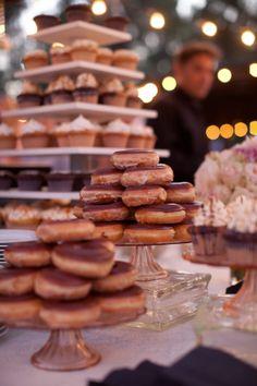 Krispy Kreme Donuts Grooms Cake
