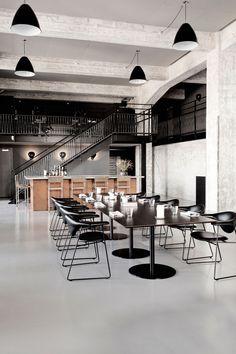 A Former Shipyard Building Is Transformed Into The AMASS Restaurant In Copenhagen | Yatzer™
