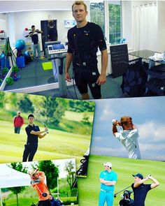 Pro Polish Golfer, Michael Goluszka looking to improve his game with the help of EMS Personal Training Body Shapes, About Uk, Ems, The Help, Polish, Training, Studio, Fitness, Vitreous Enamel