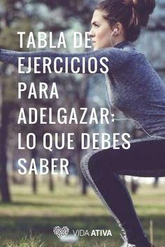 Shape, Exercise Chart, Get Skinny, Training, Life