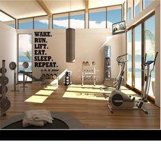 Unbelievable Exercise Home Gym Room You Need to Have at .- Unbelievable Exercise Home Gym Room You Need to Have at Home Unbelievable Exercise Home Gym Room You Need to Have at Home - Dream Home Gym, Gym Room At Home, Dream Homes, Home Gym Design, House Design, Floor Design, Shape Design, Gym Interior, Interior Windows