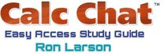 visit CalcChat at www.calcchat.com for worked-out solutions to odd numbered exercises found in Ron Larson books.