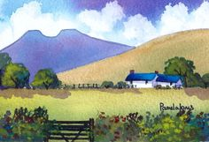Original Watercolour.....Cottage In The by Pamelajonesartstudio, £20.00