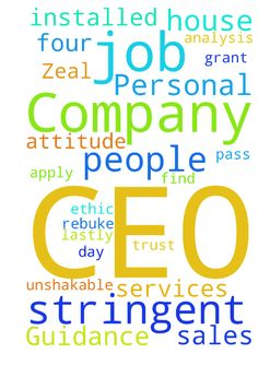 Guidance for CEO, Company and Personal Zeal Restored - I have to have a successful day today and Saturday setting appointments for the week ahead. Help me find people who are interested and have a house that is feasible. I ask 100 that agree to apply for services, get approved, get installed, save money and refer others... I ask for a great attitude, work ethic amp; unshakable trust in God that jobs pass the more stringent analysis and income verification applications. Lastly, grant me…