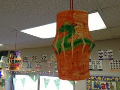 Chinese Lanterns for Reading Street - The Lady in the Moon... Mr. First Grade
