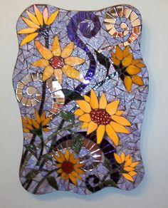 Beautiful sunflowers       #mosaic #flowers