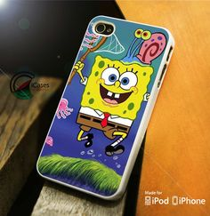 Spongebob Jellyfish iPhone 4 5 5c 6 Plus Case, Samsung Galaxy S3 S4 S5 – iCasesStore