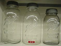 Mason's Ball Jar Collection