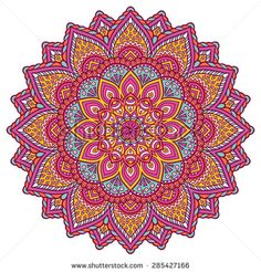 Mandala. Vintage decorative elements. Hand drawn background. Islam, Arabic, Indian, ottoman motifs.