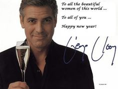 Happy New Year to all...And Happy New Year to you too HANDSOME. :)
