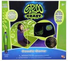 Glow Crazy Doodle Dome. For Rayjan and Ben. :)