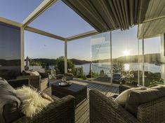 Inspirasjon til uteplass, terrasse, veranda og balkong | uteDESIGN Sweet Home, Home And Garden, House Inspirations, Cottage, Backyard, Building, Interior, Outdoors, Home Decor