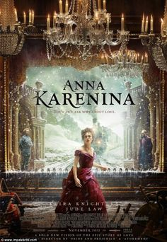 Keira Knightley appears in new posters for Anna Karenina