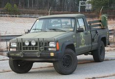 Zombie Hunting Jeep Comanche For Sale On eBay. I WANT THIS TRUCK.