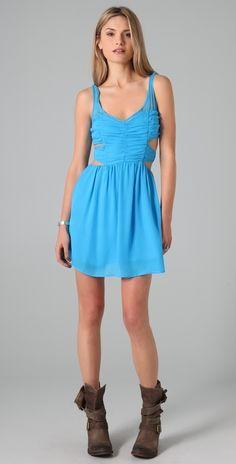 Pencey Cutout Dress thestylecure.com