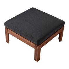 ÄPPLARÖ Table/stool section, outdoor  - IKEA. Stool + cushion = $75