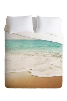 Ombre Beach Duvet Cover