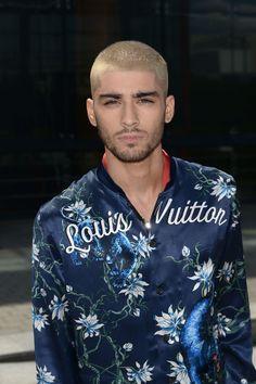 Zayn Malik hits the Louis Vuitton menswear spring/summer show