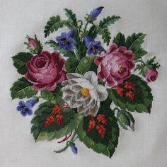 Gallery.ru / Antique Roses and Red Leaves - Букеты. - Lyu-Sik