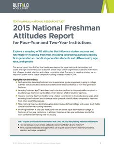 2015 National Freshman Attitudes Report