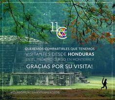 Nos visitan desde HONDURAS! :D Muchas Gracias.