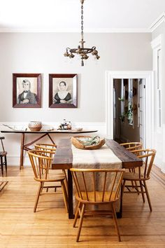 Dining Room Rules: Industrial Dining Room Lighting As The Key Fixture Dinning Room Tables, Dining Room Design, Room Interior, Interior Design, Industrial Dining, Industrial Style, Beautiful Dining Rooms, Rooms Home Decor, Room Decor